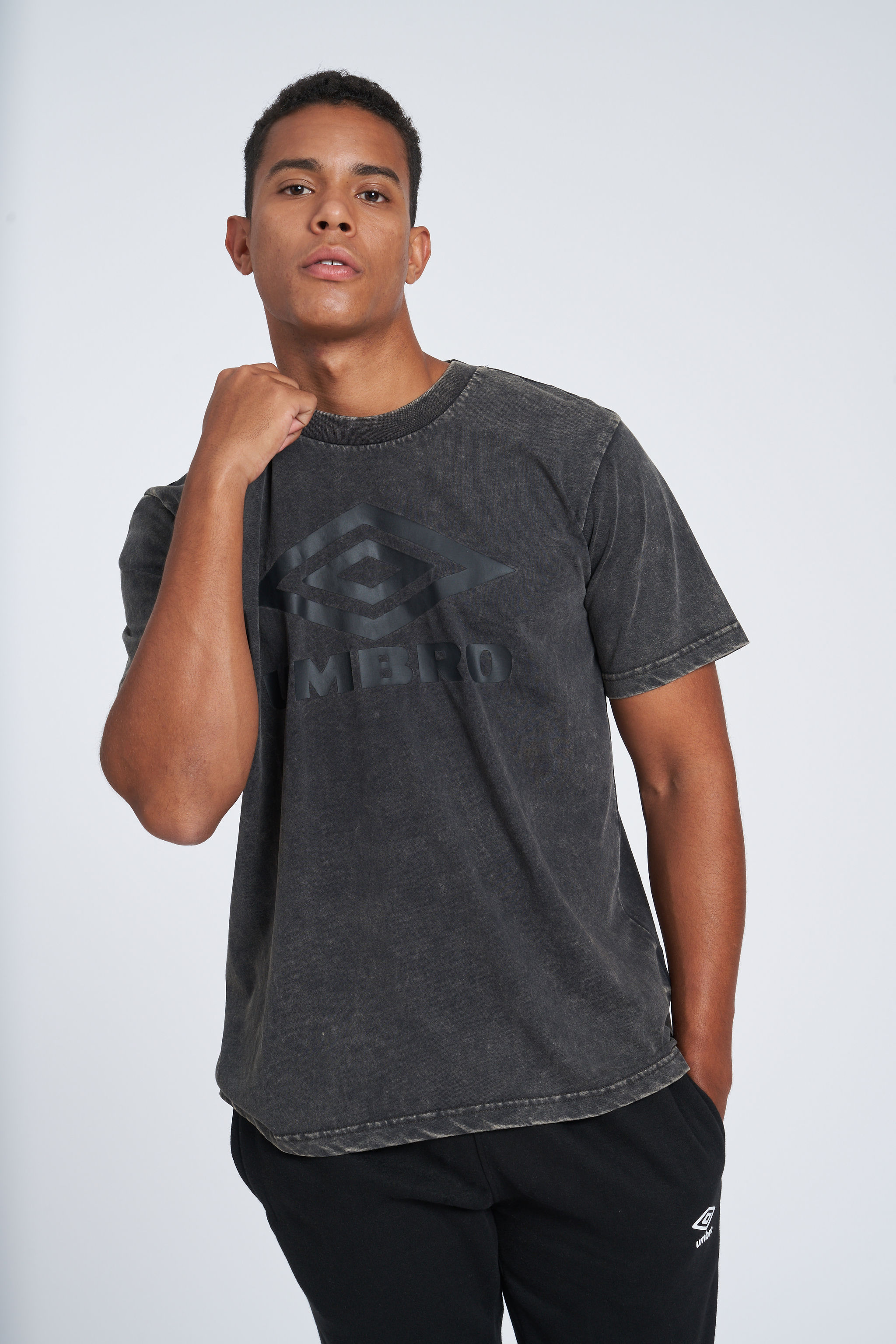 LARGE LOGO TEE BLACK