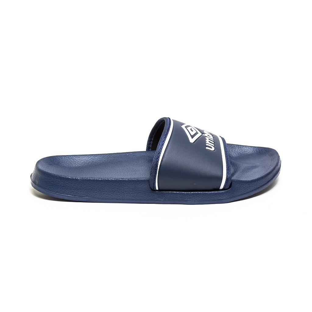 UMBRO SHOWER SLIDE - JNR NAVY / WHITE