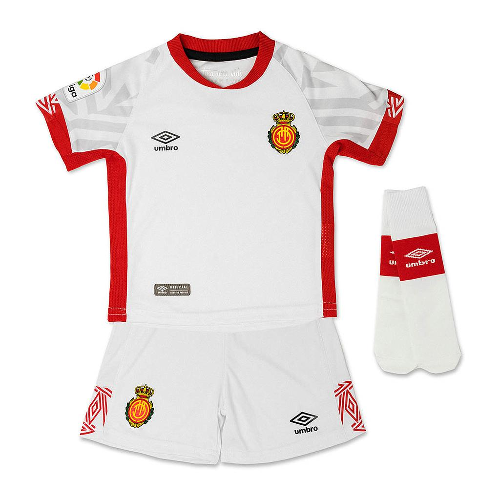 SUIT RCD MALLORCA AWAY'19 WHITE / RED / GREY PATTERNBOX RCD MALLORCA 2ª EQUIPACIÓN
