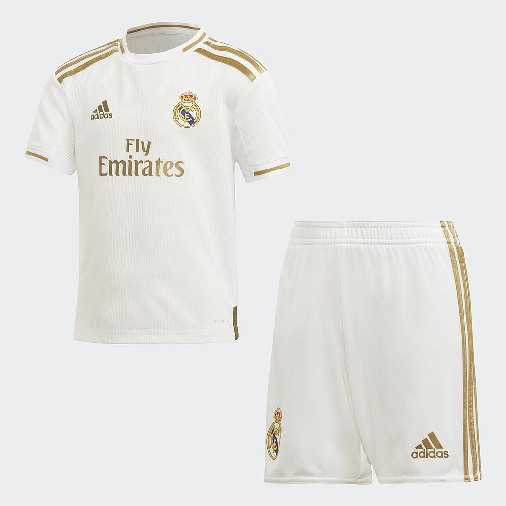 DX8843 19/20 REAL MADRID HOME MINIKIT white