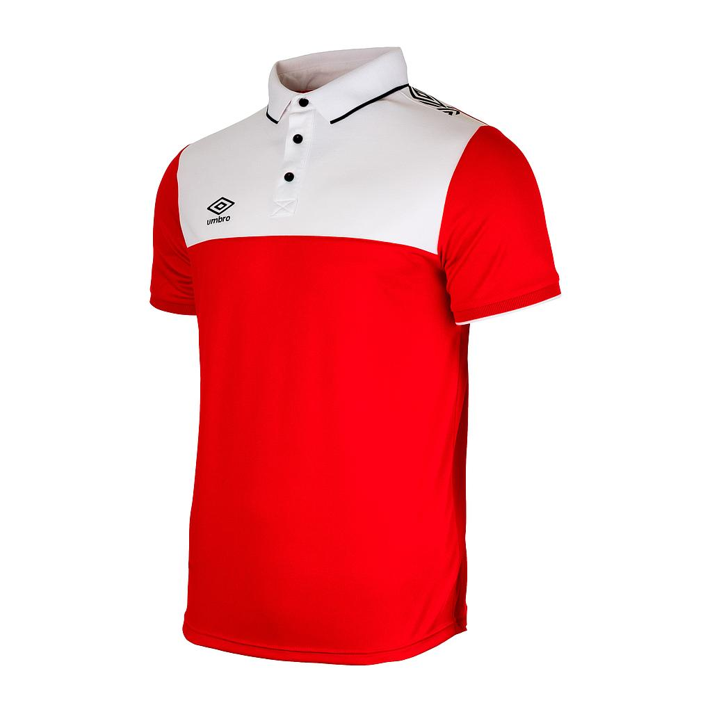 VICTORIA POLO RED / WHITE