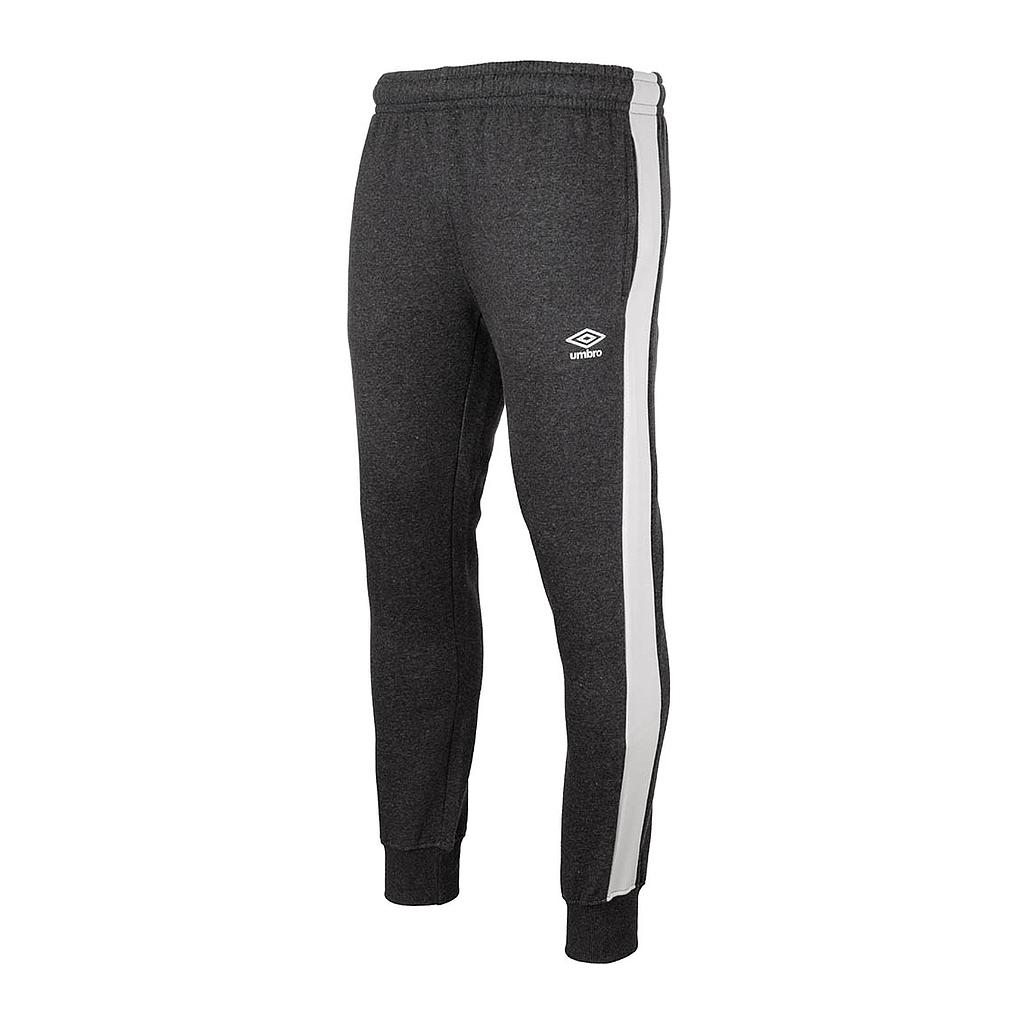 FW TAPERED FLEECE JOGGER CHARCOAL MARL / BRILLIANT WHITE