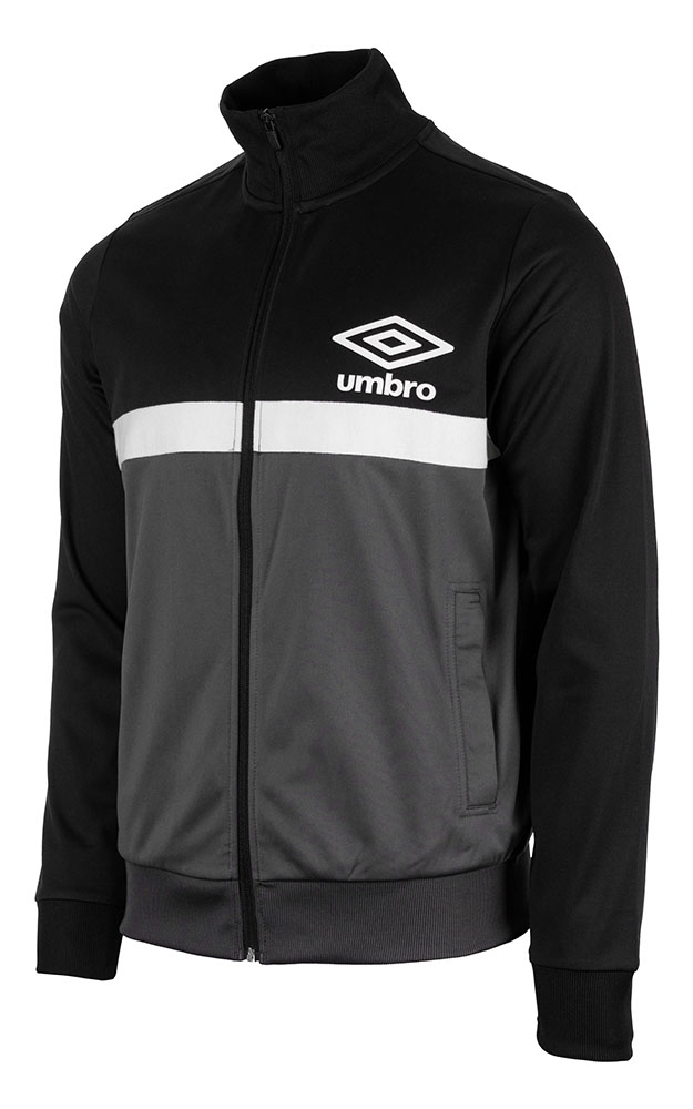 65503U-GR6 PANELLED TRACK TOP BLACK / CARBON / BRILLIANT WHITE