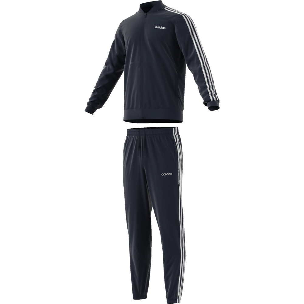 DV2468 Back to Basic 3 Stripes Tracksuit legend ink/legend ink/white