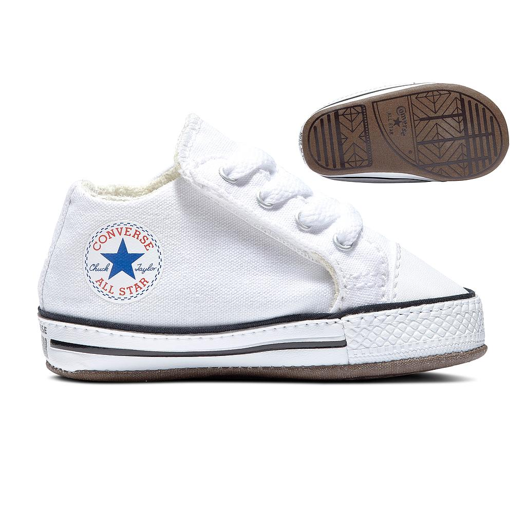 865157C CHUCK TAYLOR ALL STAR CRIBSTER CANVAS WHITE/ NATURAL IVORY/WHITE