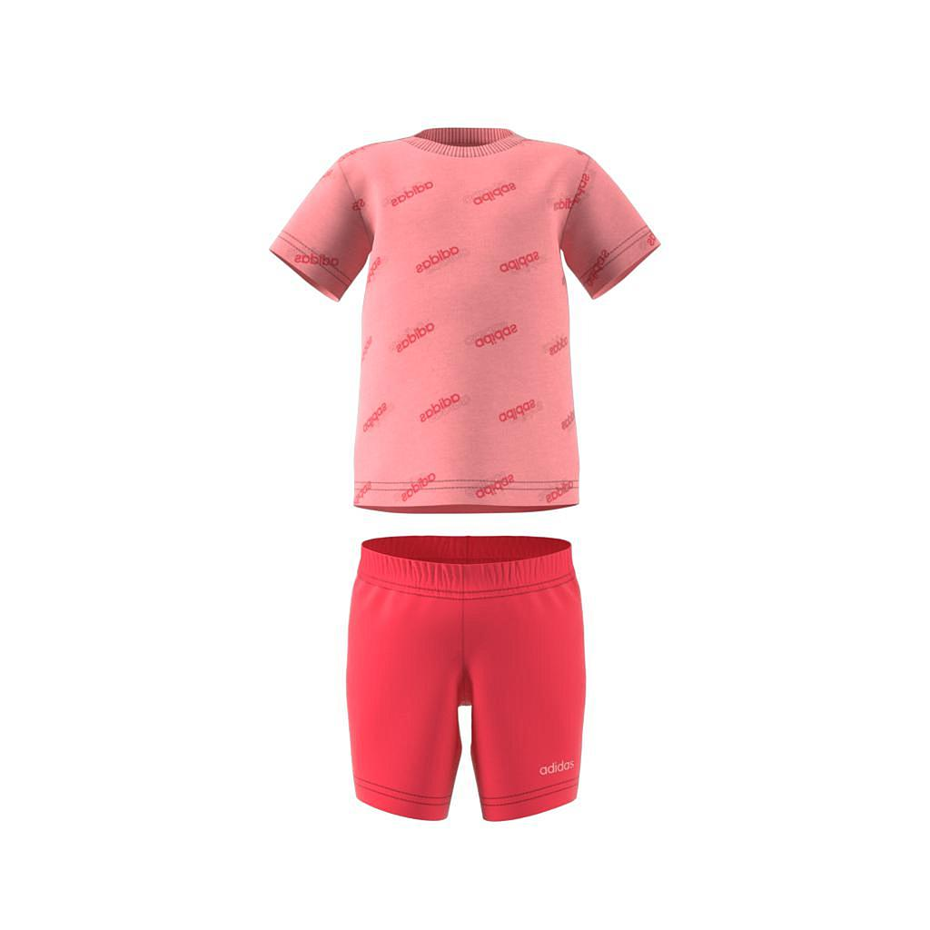 FM0657 Infant Favorites Short Sleeve Set glory pink/glory pink
