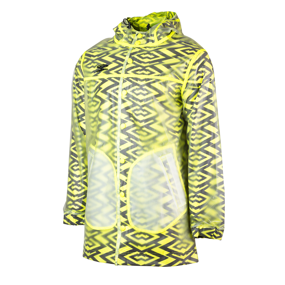 C10023-JKY-NIMBUS SHELL JACKET ICE / SAFETY YELLOW