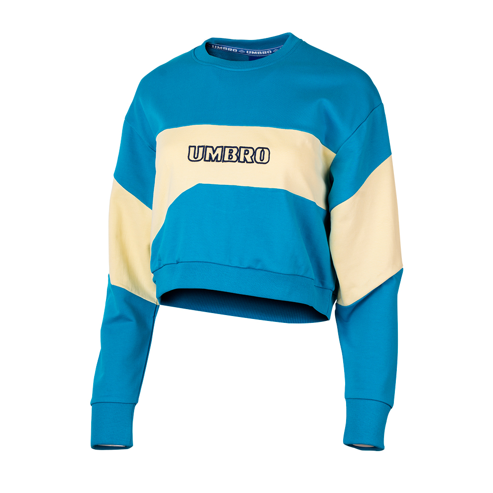 C20003-JL6-ALTO SWEAT - WMNS SOFT YELLOW / SKYDIVE / INK