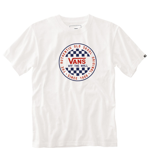 VN0A49SYWHT1 MN OG CHECKER SS WHITE