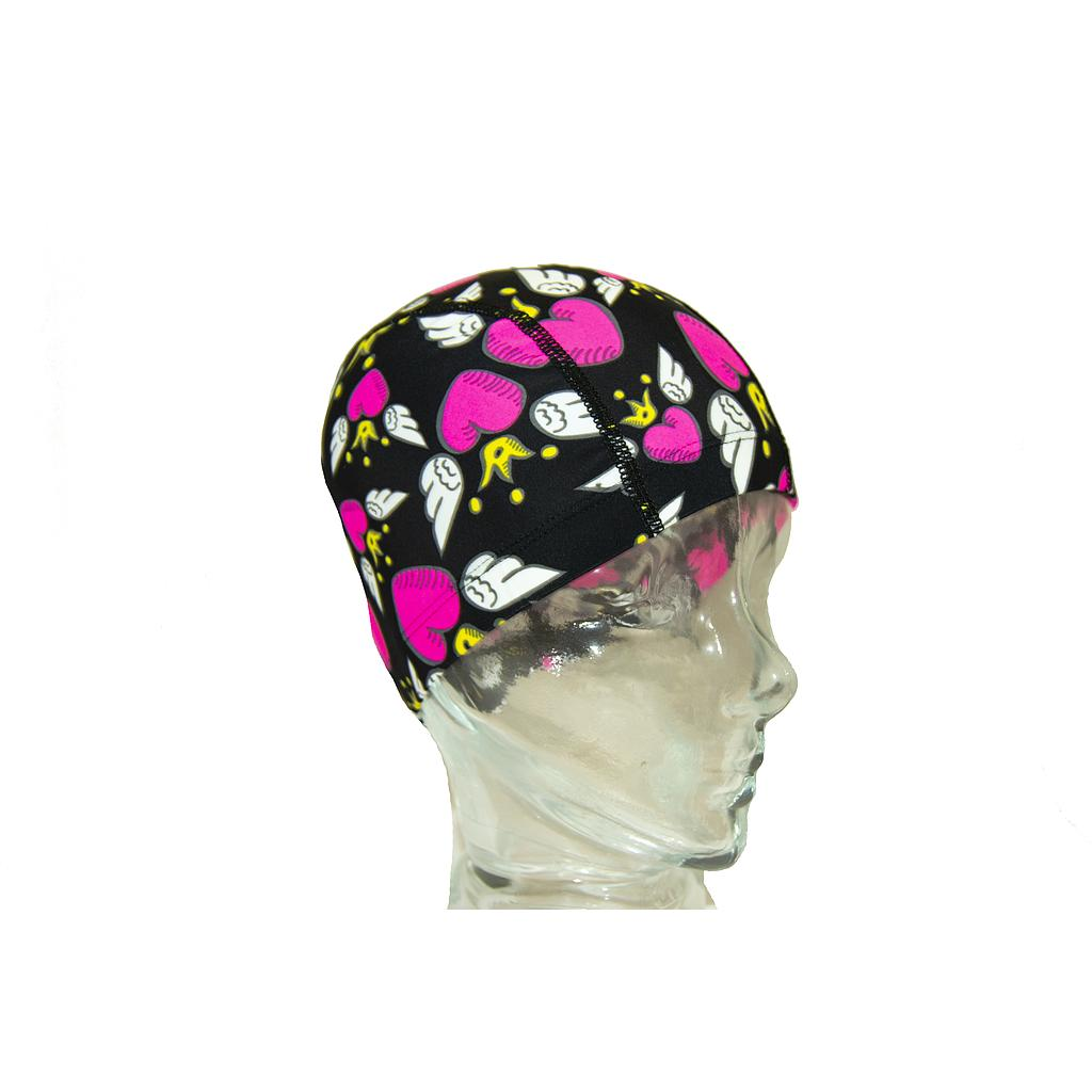 GORRO ELASTÁN ESTAMPADO HEARTII JR
