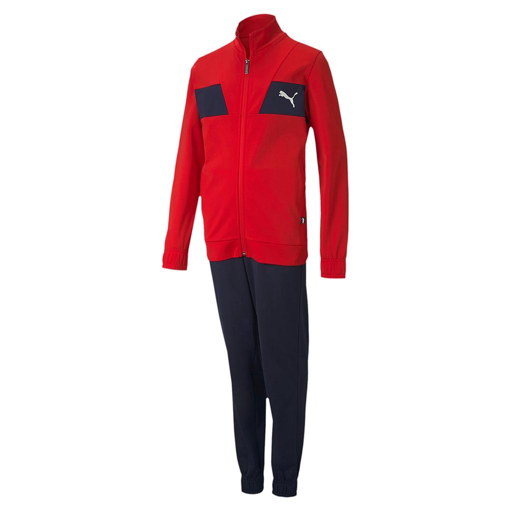 POLY SUIT CL B HIGH RISK RED